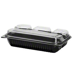 Dart® Creative Carryouts® BoxLine™ Dinner Box-4-Cmpt