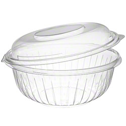 Dart® PresentaBowls® Clear Hinged Bowl w/Dome Lid-32 oz.