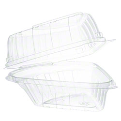 Dart® ClearSeal® Clear Pie Wedge OPS Container - 5""