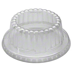 Solo® Flat Top Dome PET Plastic Lid for VS606X, VS608, V508PL