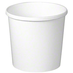 Solo® Flexstyle® White Paper Food Container - 12 oz.
