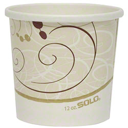Solo® Flexstyle® Symphony® Paper Food Container-12 oz.