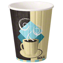 Dart® Duo Shield® TUSCAN CAFE™ Paper Hot Cup - 12 oz.