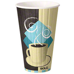 Dart® Duo Shield® TUSCAN CAFE™ Paper Hot Cup - 16 oz.