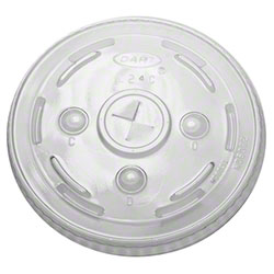 Dart® Conex® Straw Slotted Lid For 16CT, 20CT, 24C