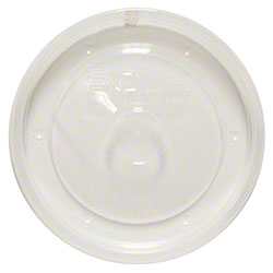 Dart® Recessed High Heat Vented PP Lid - Fits 16 oz.