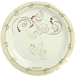 Bare® by Solo® Eco-Forward® Symphony™ Medium Wt. Paper Plate - 6""