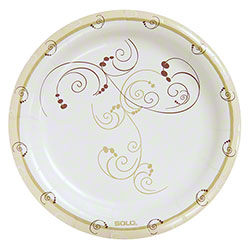 Bare® by Solo® Eco-Forward® Symphony™ Paper Plate - 9""