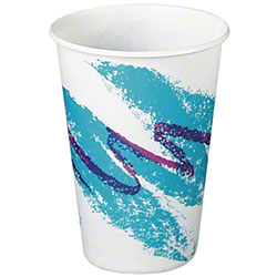 Solo® Jazz® Waxed Paper Cold Cup - 10 oz.