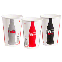 Solo® Coke/Diet/Zero Design Cold Cup - 12 oz.