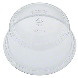 Solo® Clear PET Plastic Specialty Container Lid