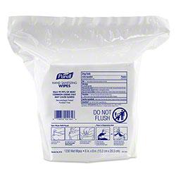 GOJO® Purell® Hand Sanitizing Wipe - 1200 ct. Refill