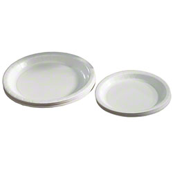 "Hoffmaster® 9"" White Paper Plate"