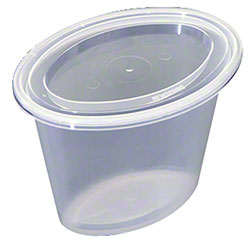 NEWSPRING® Ellipso™ Portion Cup Combo - 6 oz., Clear