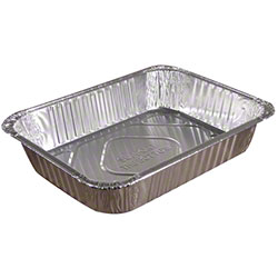 Pactiv Aluminum Steam Table Food Pan - Full Size