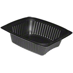Pactiv ClearView® Micromax® Black Tray - 12 oz.