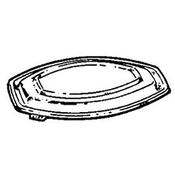 Pactiv Clear Snap-on Dome Lid For CN8-5512 & CN8-5516