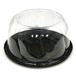"PWP Swirl Dome For 6"" Cake - 3 1/4"" Tall"