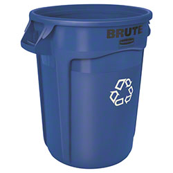 Rubbermaid® BRUTE® Recycling Container - 32 Gal., Blue