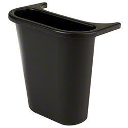 Rubbermaid® Wastebasket Recycling Side Bin - Black
