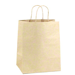 "Shamrock Natural Kraft Bag - 6"" x 3"" x 13"""