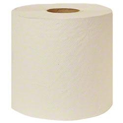 Embossed White Roll Towel - 800'