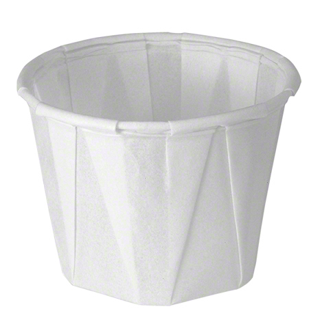 Solo® Treated Paper Soufflé  Portion Container - 1 oz.