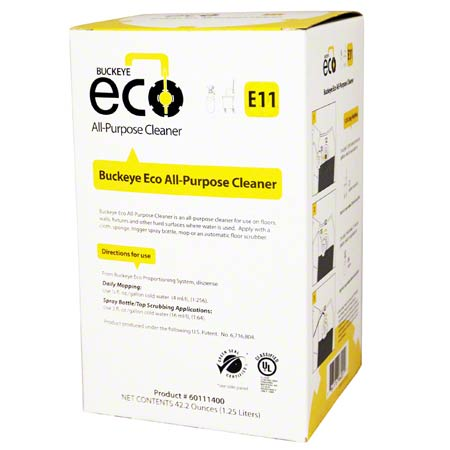 ECO E11 ALL PURPOSE CLEANER GSC 1.25L 4/