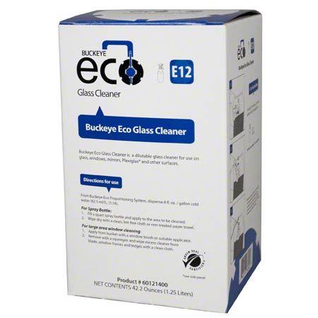 ECO E12 GLASS CLEANER GSC 1.25L 4/