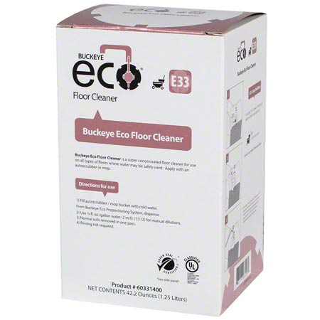 ECO E33 SUPERCONC FLOORCLNR FRSH1.25L 4/