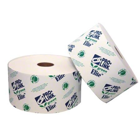"PRO-LINK® Green Elite 2 Ply Tissue - 3 3/4"" x 3 1/2"""