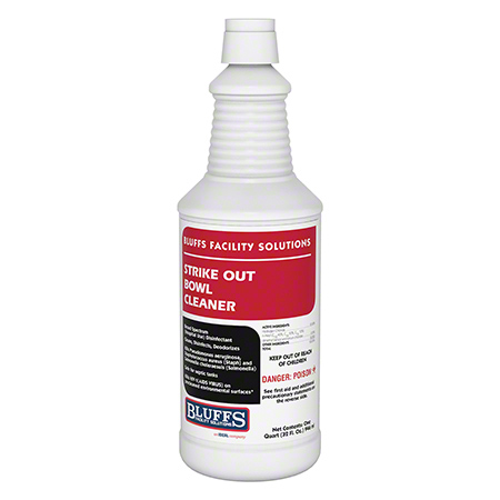 Bluff's Strike Out Bowl Cleaner - Qt.