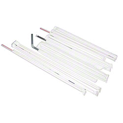 Cardinal™ Wrapped Drinking Straws