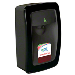 Designer Series No Touch Dispenser - Black w/Black Trim
