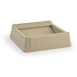 Rubbermaid® Untouchable® Square Top For 3958, 3959-Beige