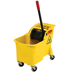 Rubbermaid® Tandem™ 31 Qt. Bucket/Wringer Combo