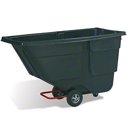 Rubbermaid® 1 cu yd. Tilt Truck - Black