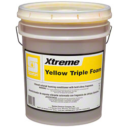 Spartan Xtreme Yellow Triple Foam - 5 Gal.