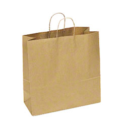 "TULSACK Brown Shopping Bag - 18"" x 7"" x 18"""