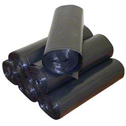 Jadcore Tru Mil Star Seal Black Coreless Can Liner - 38 x 58, 2.0 mil