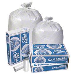 Pitt Plastics Mighty Tough White Coreless Roll Liner