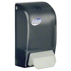 Dial® Professional 1 L Manual Foam Soap Dispenser - Smoke