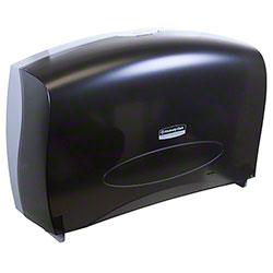 Kimberly-Clark® Cored JRT Combo Tissue Dispenser - Smoke