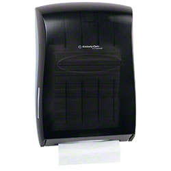 Kimberly-Clark® Universal Folded Towel Dispenser - Smoke Grey