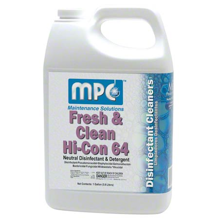MPC™ Fresh & Clean Hi-Con 64 Disinfectant - Gal.