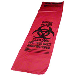 NAPCO Red Infectious Waste Bags