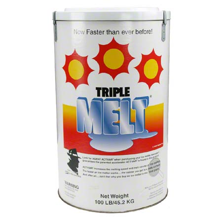 Ossian Triple Melt® Ice Melter - 70# Drum