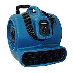 XPOWER® P-800H Air Mover w/Telescopic Handle & Wheels