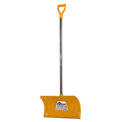 "Garant® Snow Pusher w/21"" Poly Blade, Steel Wear Strip"
