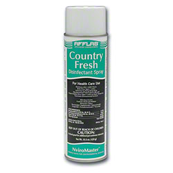 Afflab Country Fresh Disinfectant Spray - 15.5 oz. Aerosol